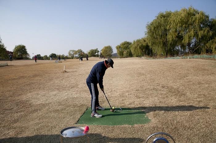 Golfing Break