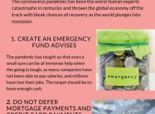 2020 Infographic by How to plan your finances during the COVID-19 pandemic What the experts at Arlington Capital Management say