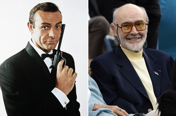 Happy birthday to the hottest Bond of them all: Sean Connery turns 90